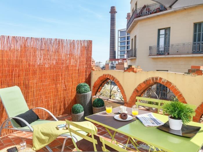 Apartment In Barcelona Vila Studio Con Terraza