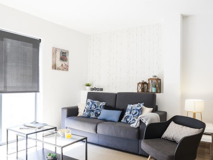 mozart 2 habitaciones terraza - barcelona