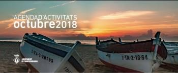 Agenda de actividades del mes de octubre