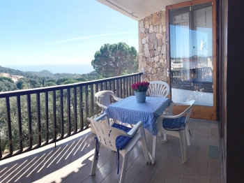appartamento Kerstin Bruns - Apartamento Paco with sea view tossa de mar