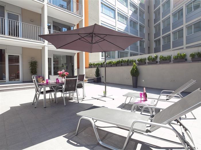 solarium 1 bedroom +1 bathtroom big terrace - barcelona