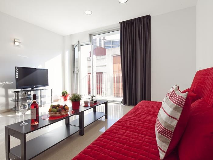 standard 1 bedroom + 1 bathroom balcony - barcelona