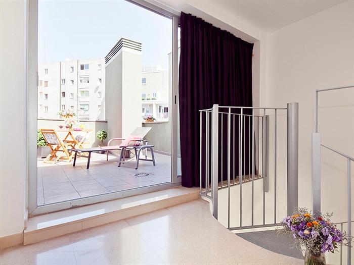 penthouse 2 bedroom +2 bathroom terrace - barcelona