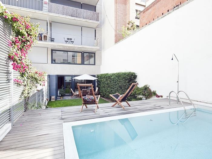 excellent duplex in sarrià private pool for 10 - barcelona