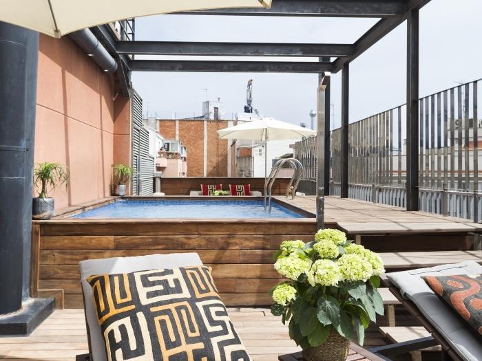 barcelona apartment in arc de triomf with pool - barcelona