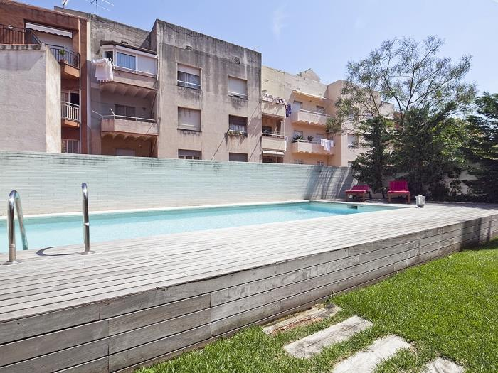 gracia penthouse with terrace and pool for 8 - barcelona
