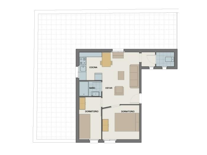 penthouse top views - barcelona