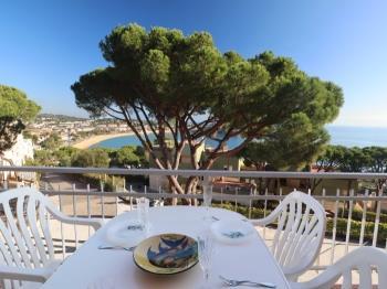 apartment Apto vista a mar para 4 pax en CAOCA S'Agaró