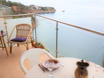 Apartament Apto. para 6 pax con increíble vista mar ROCAFOSCA