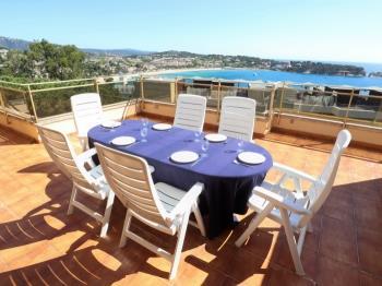 apartment BRISES I Apto 6 pax con piscina/vista a mar C27129 S'Agaró