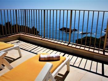 apartment Ático Les Veles con piscina privada para 6 pax Sant Feliu de Guíxols