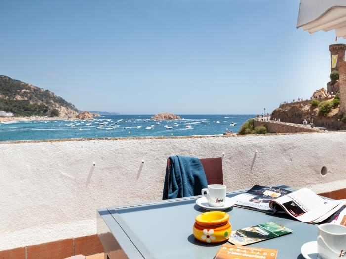 amazing triplex sea views in tossa - tossa de mar