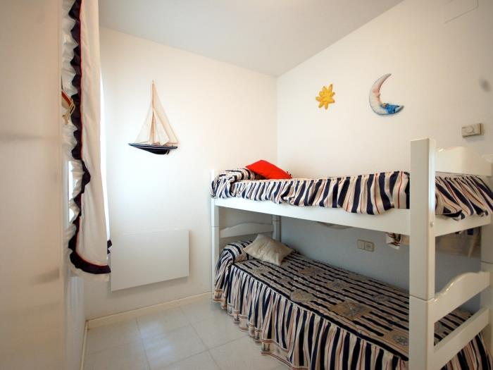 beach apartment 2 rooms with parking - tossa de mar