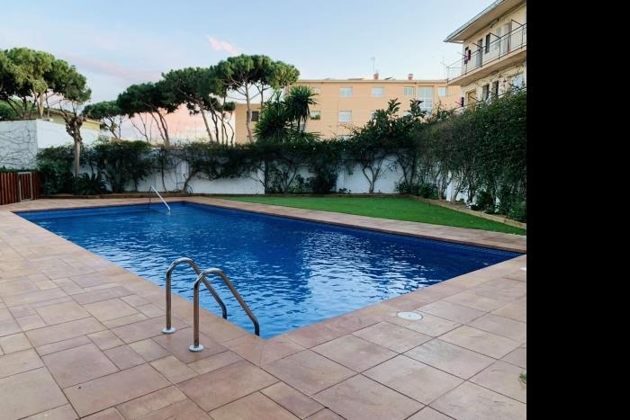 beach apartment in castelldefels - castelldefels