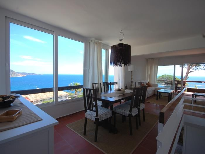 big house with panoramic views in cala salions - tossa de mar