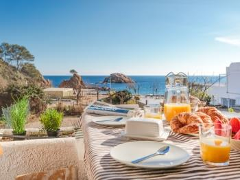 apartament GARDEN HOUSE IN FRONT OF THE BEACH Tossa de Mar