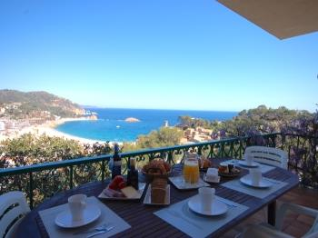 zuhause BIG HOUSE with PANORAMIC SEA VIEWS Tossa de Mar