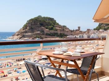 apartament APARTMENT SEA VIEWS on the BEACH Tossa de Mar