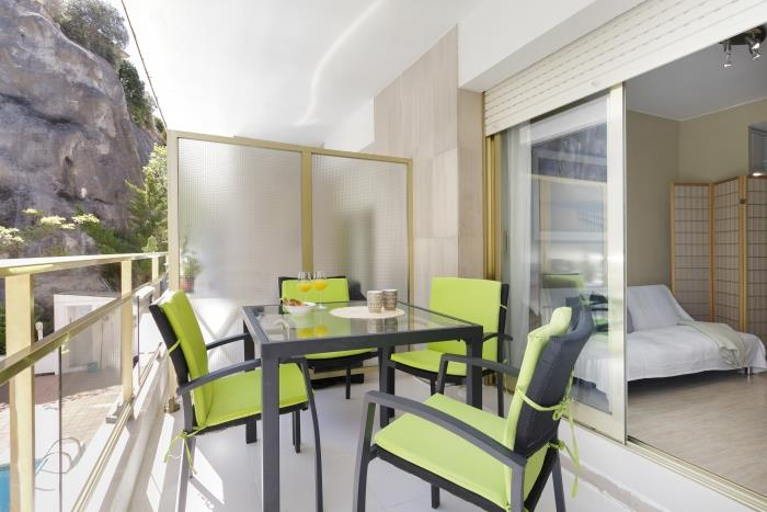 pool apartment near beach tossa - tossa de mar