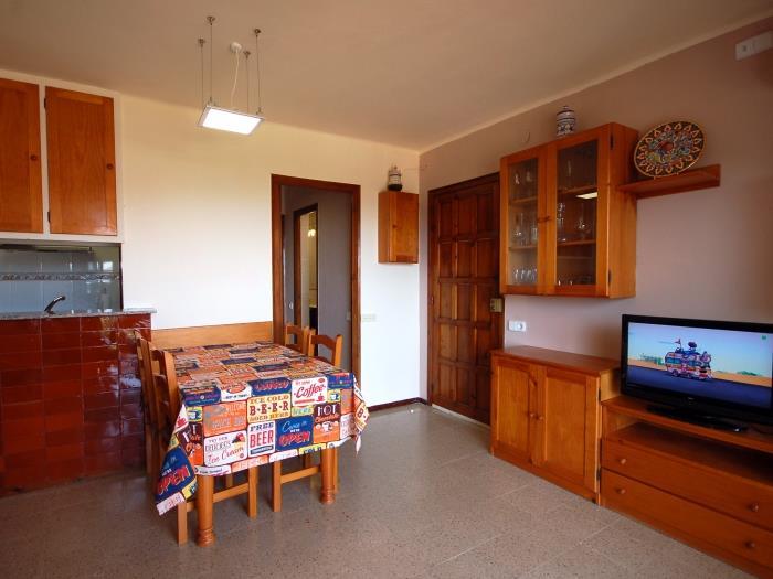 quiet apartment in sa gabarra - tossa de mar