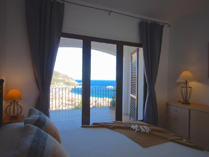 mediterranean sea views in costa brava - tossa de mar