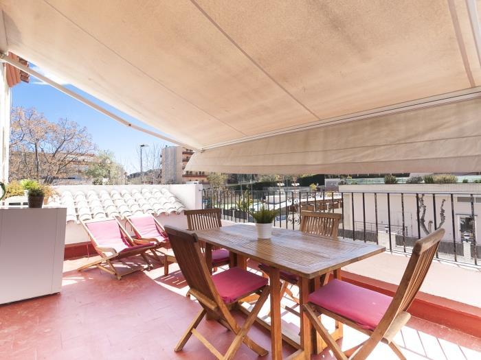 nice apartment with terrace in tossa - tossa de mar