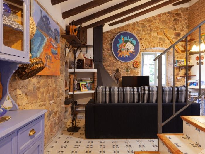 rustic apartment in the old town tossa - tossa de mar