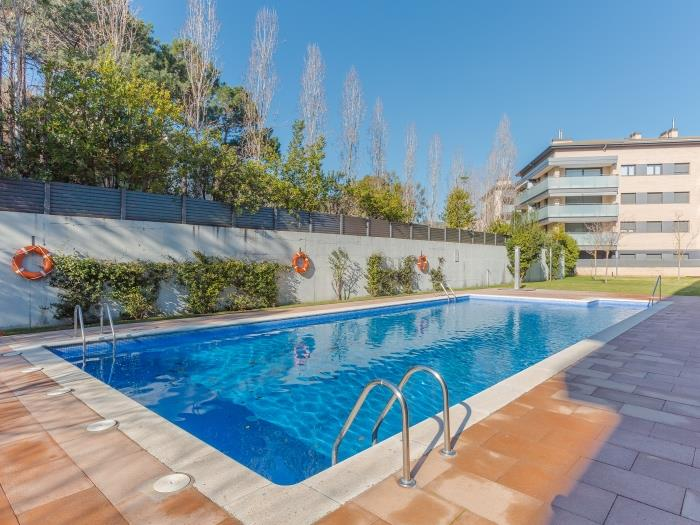 apartment with pool in quiet area - tossa de mar