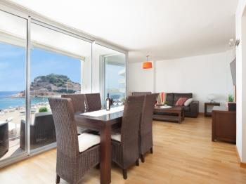apartament AMAZING FRONT SEA VIEWS APARTMENT Tossa de Mar