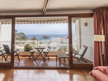 apartament SEA VIEWS APARTMENT ON THE BEACH Tossa de Mar