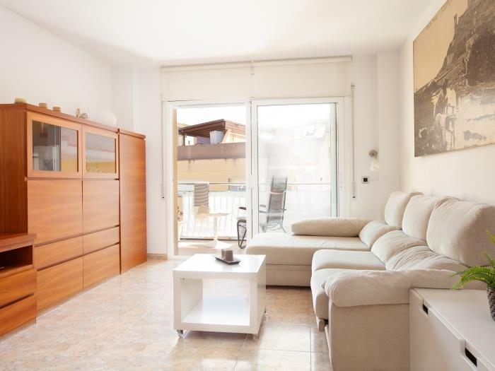 quiet apartment with big terrace - tossa de mar