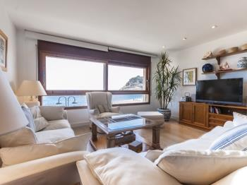 appartement APARTMENT SEA VIEWS ON THE BEACH 2 Tossa de Mar