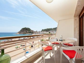 apartament APARTMENT SEA VIEWS ON THE BEACH 3 Tossa de Mar