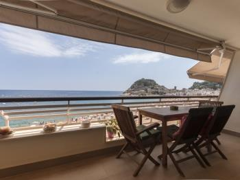apartament APARTMENT SEA VIEWS ON THE BEACH 4 Tossa de Mar