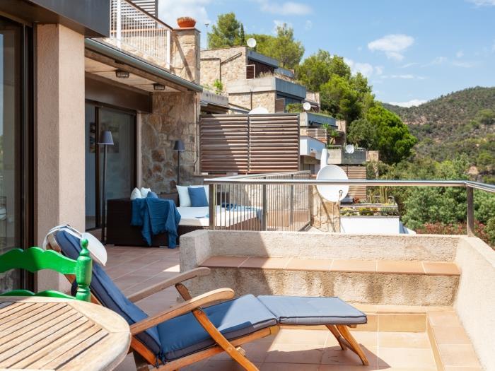 sea views apartment in giverola - tossa de mar