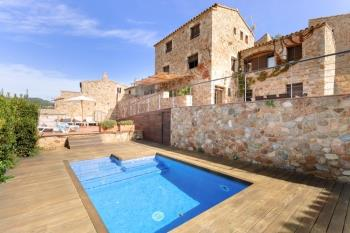 house VILLA PANDORA luxury rustic house with pool Tossa de Mar