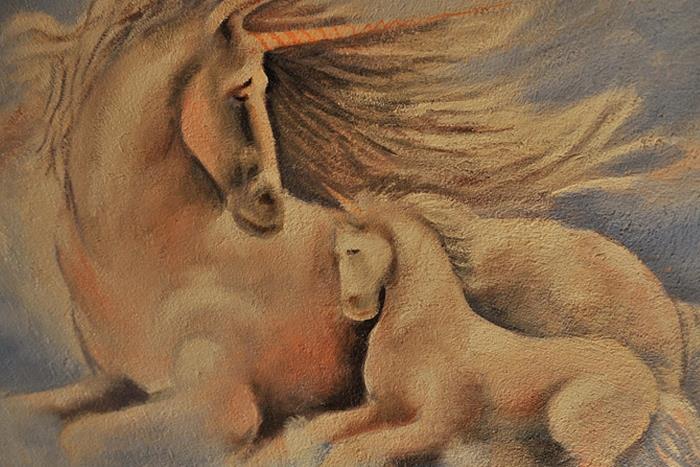 las moradas del unicornio suite unicornio dorado - figueres