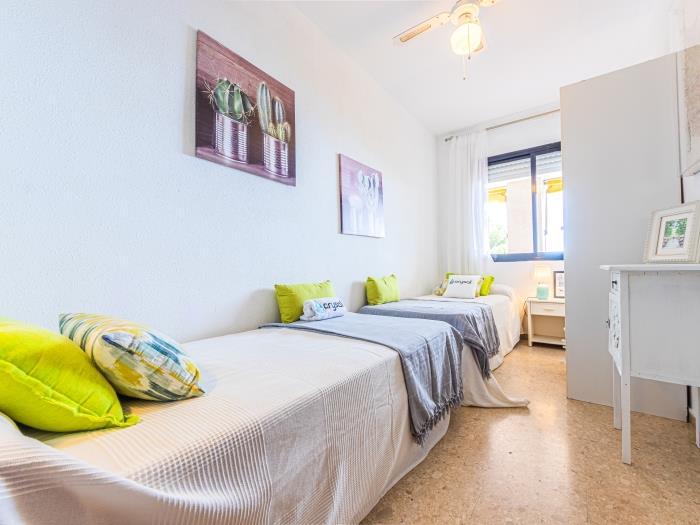 2 dormitorios platja llarga - salou