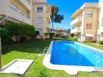 green residencial, con jardín,barbacoa y piscina - salou