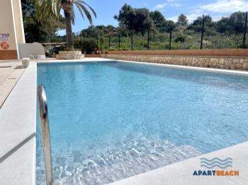 Apartamentos Fluromar,climatizado y piscina