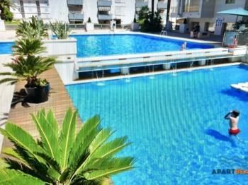 Apartamentos Novelty,a 50m de la playa,con piscina