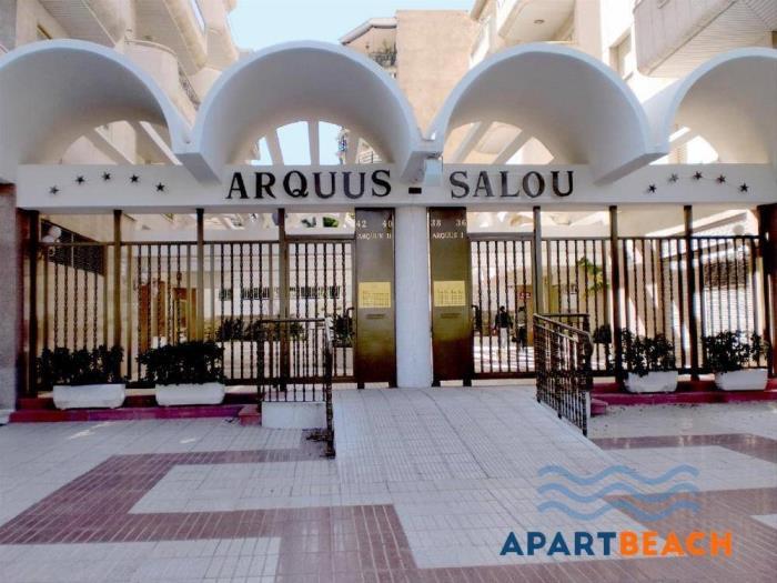 edificio arquus en centro de salou - salou