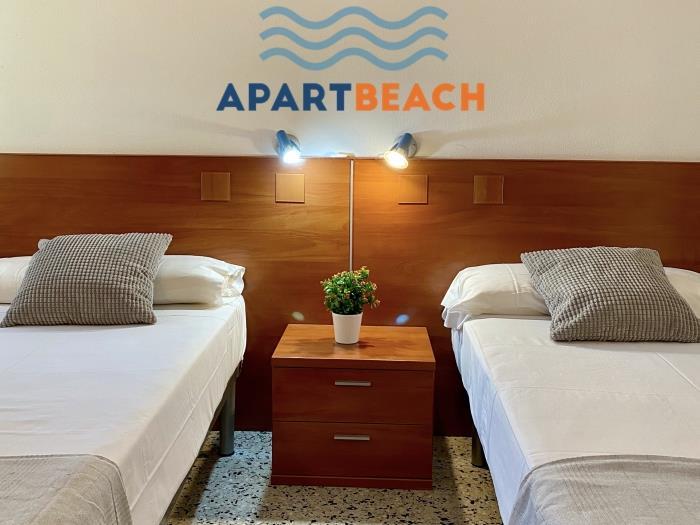 apartbeach la cumbre junto playa - salou