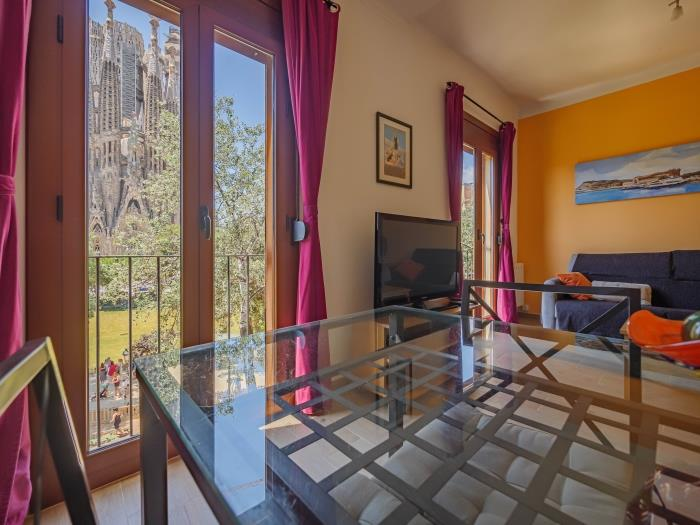 panoramic sagrada familia 2 - barcelona