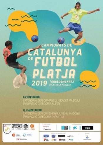 Campeonato de fútbol playa