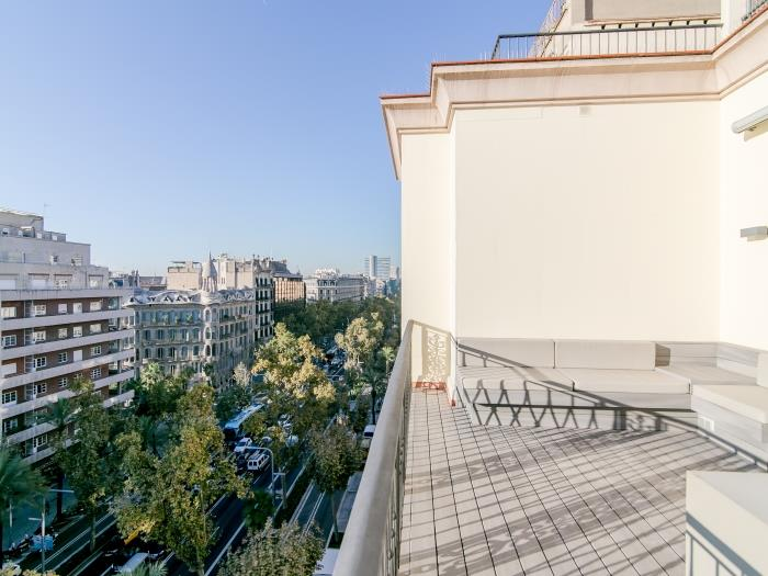 two bedroom apartment with terrace - barcelona