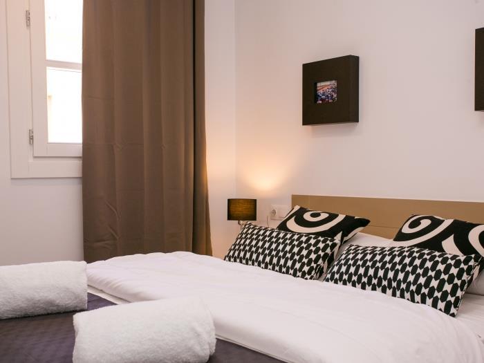 apartamento 2 habitaciones sants/fira - barcelona