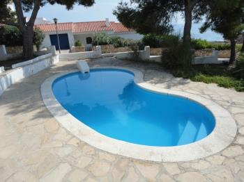 FAMILY HOUSE WITH DIRECT ACCES TO THE BEACH, SWIMING-POOL, BBQ AND WIFI_PISCINA - Apartment in L'Ametlla de Mar