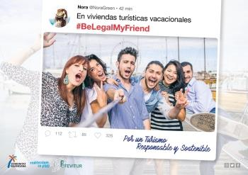 FEVITUR presenta campaña #BeLegalMyFriend para fomentar regulación de viviendas turísticas