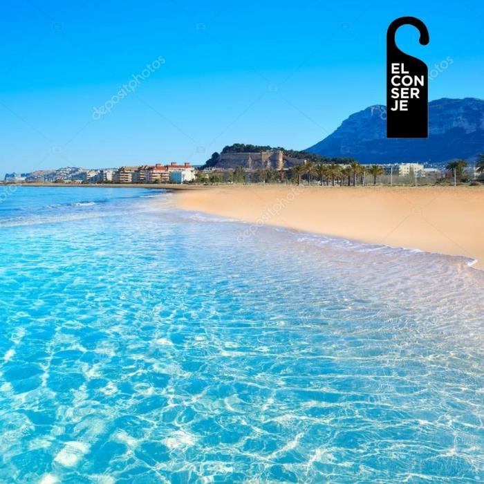Las aguas de la playas de Denia tienen una excelente salud